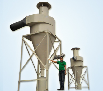 Cyclone Seperator Dust Collector System In Hyderabad India